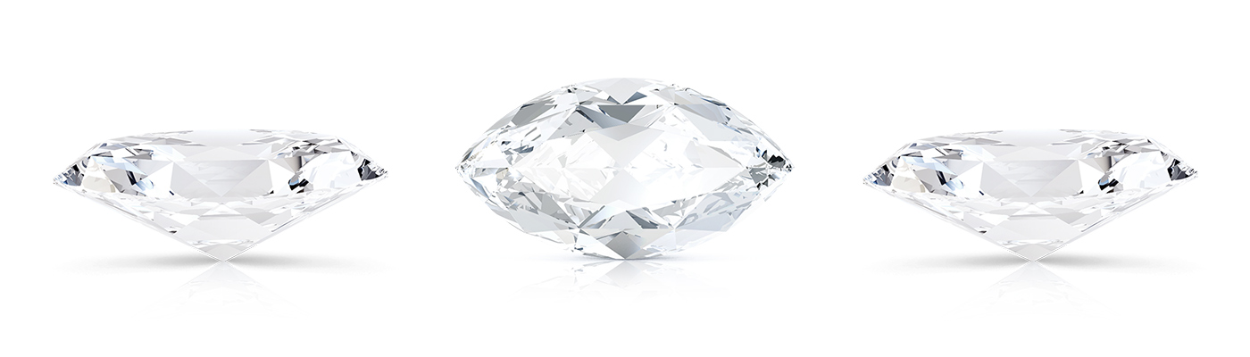 What are the properties of a marquise cut?