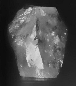 """Cullinan diamond rough"" by Unknown - Downloaded 2013-02-11 from Julius Wodiska (1909) A Book of Precious Stones, 2nd Ed., G. P. Putnam's Sons, New York, p. 46 on Google Books. Licensed under Public Domain via Wikimedia Commons"