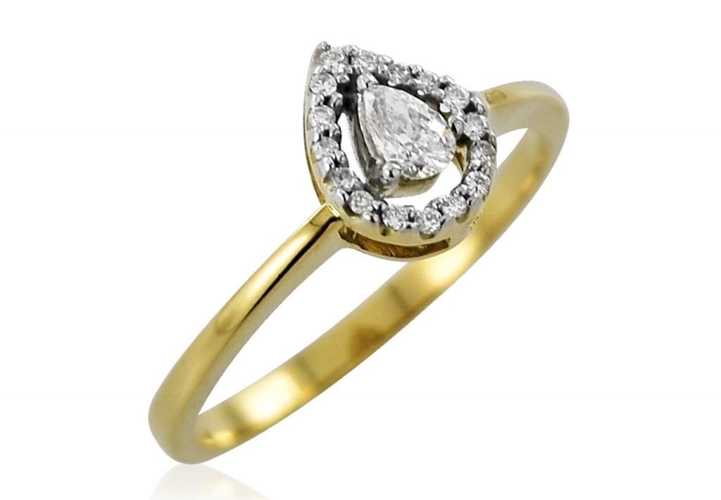 Pear-shaped-Cluster-Ring