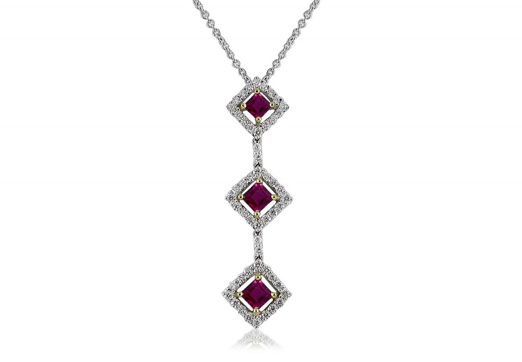 square-ruby-diamond-pendant